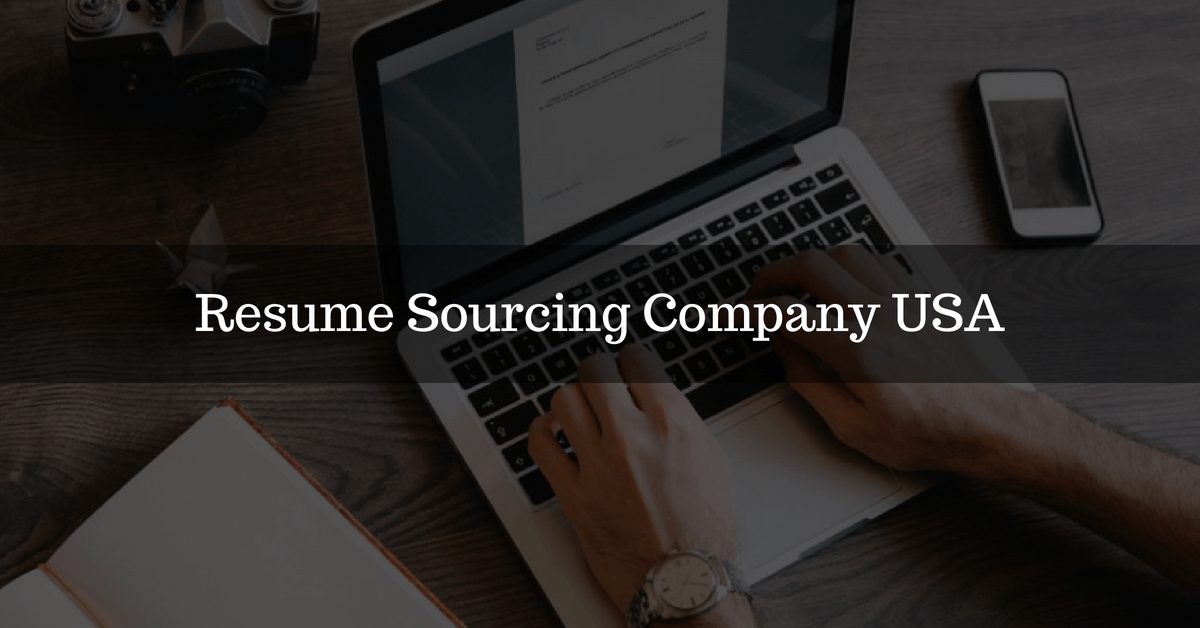 resume sourcing company USA