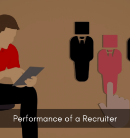 Performance of a recruiter